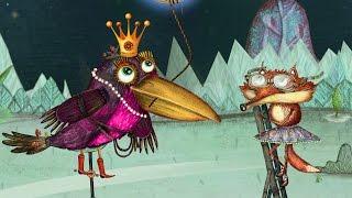 """Pasaka """"Varna ir sūris"""" –  Lietuviška animacija vaikams (Full HD)"""