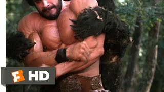 Hercules (2/12) Movie CLIP - Hercules Fights a Bear (1983) HD
