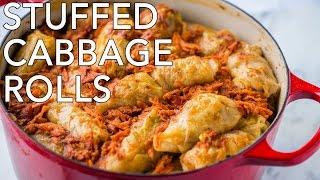 Dinner: Stuffed Cabbage Rolls (Golubtsi) - Natasha