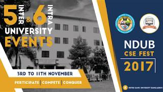 NDUB CSE FEST 2017 TRAILER