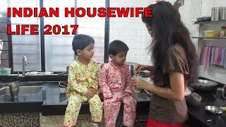 INDIAN HOUSEWIFE/MOM  LIFE2017||INDIANTWINS MUMMY VLOG
