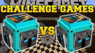 Minecraft: POPULARMMOS VS POPULARMMOS CHALLENGE GAMES - Lucky Block Mod - Modded Mini-Game