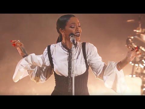 Rihanna Love On the Brain Live at Global Citizen Festival 2016