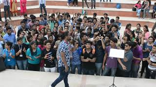 Glimpse of Live in concert with Mr. Rahul Joshi (Indian Idol Fame and Winner of Voice of Rajasthan)