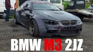 🐒 BMW E92 M3 WITH 2JZ SUPRA ENGINE