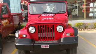 Mahindra Thar CRDe 4x4 Walkaround video