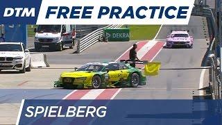 DTM Spielberg 2016 - Free Practice 3 - Re-Live (German)
