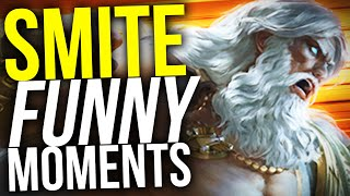 CUT FOR ZEUS! - SMITE FUNNY MOMENTS