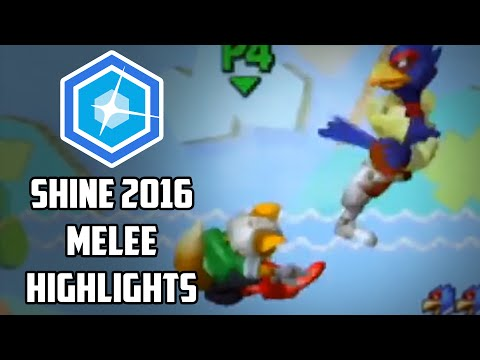 watch Shine 2016 - Smash Melee Top 8 Highlights - by Remzi H.