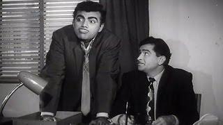 Mehmood's Comedy Scene | Shriman Satyawadi (1960) | Raj Kapoor, Mehmood | Scene 14/20
