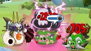 Angry Birds Epic - Win Event Curse Of The Necromancer Points And Snoutlings Part 2