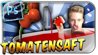 CONCRAFTER MAG TOMATENSAFT | Photoshop Palace - YouTuber Photoshopped | Deutsch German