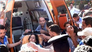 EGYPT || Wounded Coptic arrive to Cairo