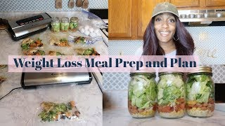 Weekly Healthy Meal Prep & Plan / Healthy Meal Prep for Weight Loss /