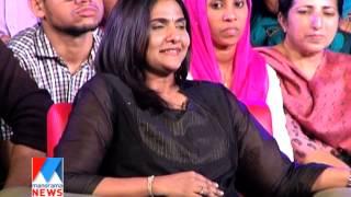 Manju Warrier in Manorama News NewsMaker-2014