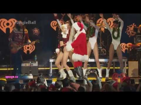 watch Miley Cyrus - Party In The USA (Live At Z100's Jingle Ball 2013)