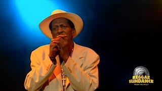 Gregory Isaacs Live at Reggae Sundance 2007.