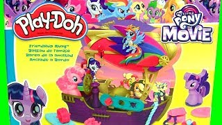 Play Doh My Little Pony Amizade a Bordo Macinhas
