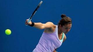Margarita Gasparyan vs Karin Knapp || Baku 2015 Highlights
