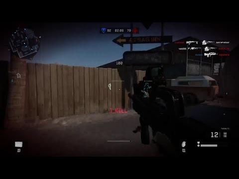 Warface PS4 Pro Famas Weapon-test 1080p60