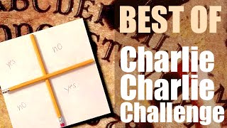 CHARLIE, CHARLIE, ARE YOU HERE? - #CharlieCharlieChallenge Compilation