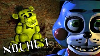 ATAQUES CARDIACOS | Five Nights At Freddy's 2: Noche 1 - JuegaGerman