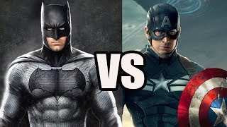 Batman vs Captain America - Who Would Win? - Analytical Story Battle
