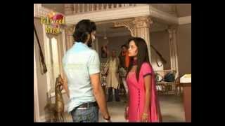 On location of TV Serial 'Na Bole Tum Na Maine Kuchh Kaha'  tiff between Navika & Veera 1