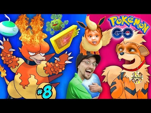 POKEMON GO Flaming Butt Head Hunt! Evolution Tricks, Lure Module & Incense (FGTEEV #8 CITY ON FIRE)
