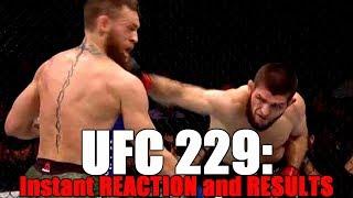 UFC 229: Reaction and Results | Khabib vs McGregor