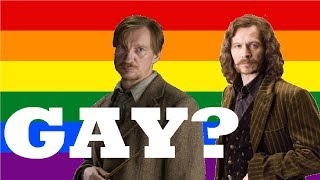 Are They Gay? - Remus Lupin and Sirius Black (Wolfstar)