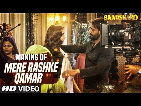 """Making Of """"Mere Rashke Qamar"""" Song   Baadshaho   Ajay Devgn, Ileana, Nusrat & Rahat Fateh Ali Khan"""