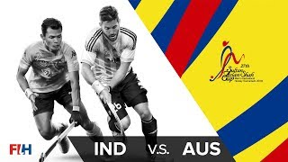 India v Australia - 27th Sultan Azlan Shah Cup