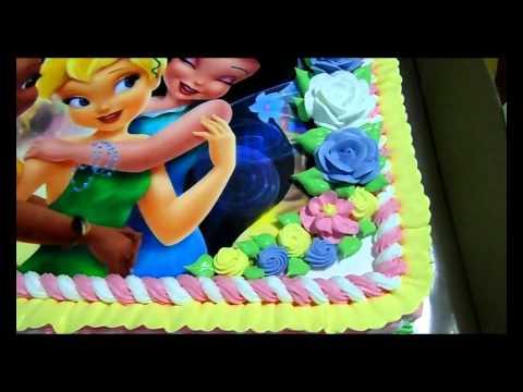 Bolo da Sininho TinkerBell cake