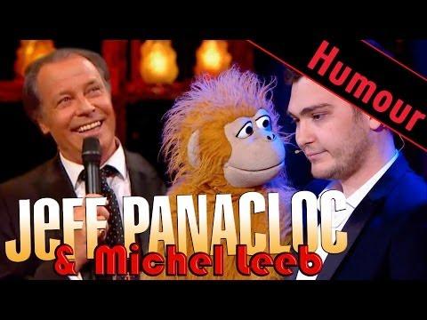 Jeff Panacloc et Jean Marc Avec Michel Leeb au Grand Cabaret
