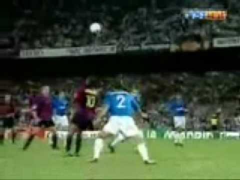 Las 5 mejores chilenas en la historia del fútbol