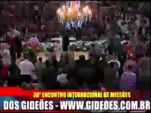 Pr Gilvan Rodriques Gideões 2012 Pregação Completa