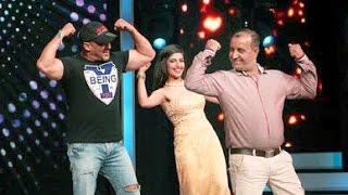 Salman Khan Zingat Song Dance - Sa Re Ga Ma Pa 2016 - Sultan Promotions