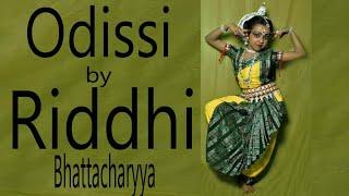 Riddhi Bhattacharyya Odissi Dance (Basanta Pallavi).VOB