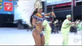 Carnaval 2012 - Viviane Araújo (Desfile Mancha Verde)