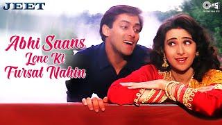 Abhi Saans Lene Ki Fursat Nahin - Jeet   Salman Khan & Karisma Kapoor   Sonu Nigam & Alka Yagnik