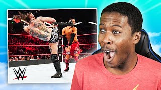 Reacting to WWE Black Mass Compilations
