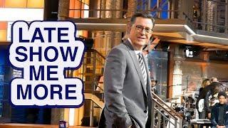 LATE SHOW ME MORE: Colbert