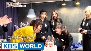 Visiting Yewon's house! Unnie's PJ party begins! [Sister's Slam Dunk Season2 / 2017.03.17]