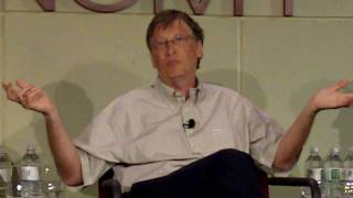 Bill Gates: Non-profits vs. for-profit businesses