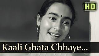 Kali Ghata Chhaye Mora Jiya (HD) - Sujata Song - Sunil Dutt - Nutan - Asha Bhosle