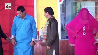 CHOTI TARIQ TEDI WASTEY ZAFRI KHAN - LATEST COMEDY STAGE DRAMA CLIP - HI-TECH PAKISTANI