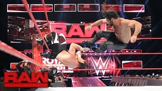 Seth Rollins vs. Sami Zayn - If Zayn wins, he takes Rollins