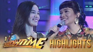 "It's Showtime Miss Q & A: ""Ate Girl"" and Bela exchange pleasantries"