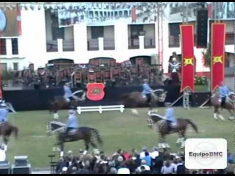 Gala Ecuestre Sección Alta Escuela de Ejército de Chile